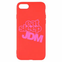 Чехол для iPhone 8 Eat sleep JDM