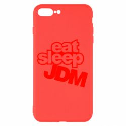 Чехол для iPhone 8 Plus Eat sleep JDM