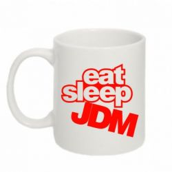 Кружка 320ml Eat sleep JDM