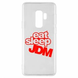 Чехол для Samsung S9+ Eat sleep JDM