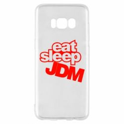 Чехол для Samsung S8 Eat sleep JDM