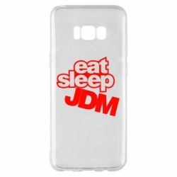 Чехол для Samsung S8+ Eat sleep JDM
