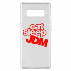 Чехол для Samsung Note 8 Eat sleep JDM