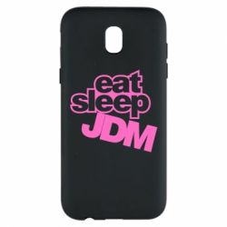 Чехол для Samsung J5 2017 Eat sleep JDM