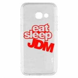 Чехол для Samsung A3 2017 Eat sleep JDM