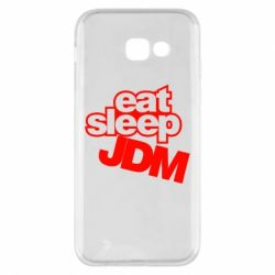 Чехол для Samsung A5 2017 Eat sleep JDM