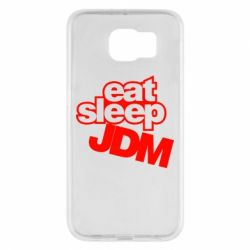 Чехол для Samsung S6 Eat sleep JDM