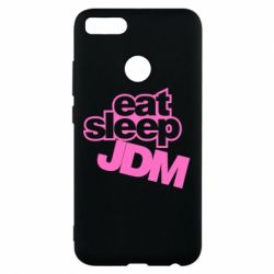 Чехол для Xiaomi Mi A1 Eat sleep JDM