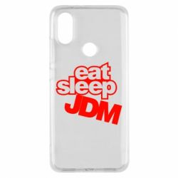 Чехол для Xiaomi Mi A2 Eat sleep JDM