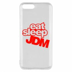 Чехол для Xiaomi Mi6 Eat sleep JDM