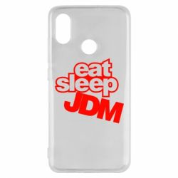 Чехол для Xiaomi Mi8 Eat sleep JDM