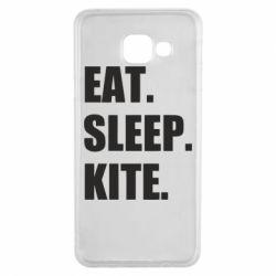 Чохол для Samsung A3 2016 Eat, sleep, kite