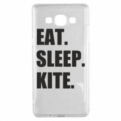 Чохол для Samsung A5 2015 Eat, sleep, kite