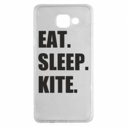 Чохол для Samsung A5 2016 Eat, sleep, kite