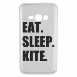 Чохол для Samsung J1 2016 Eat, sleep, kite