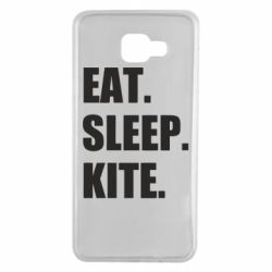 Чохол для Samsung A7 2016 Eat, sleep, kite