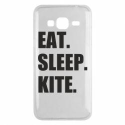 Чохол для Samsung J3 2016 Eat, sleep, kite