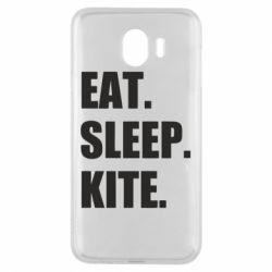 Чохол для Samsung J4 Eat, sleep, kite