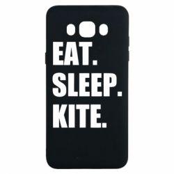 Чохол для Samsung J7 2016 Eat, sleep, kite