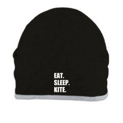 Шапка Eat, sleep, kite