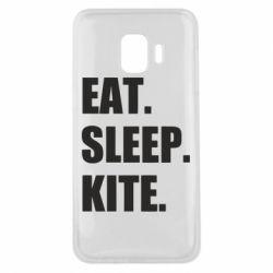 Чохол для Samsung J2 Core Eat, sleep, kite