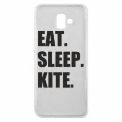 Чохол для Samsung J6 Plus 2018 Eat, sleep, kite