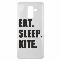 Чохол для Samsung J8 2018 Eat, sleep, kite