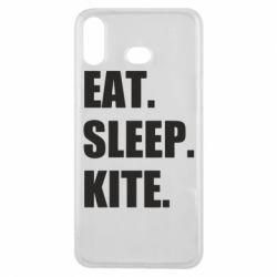 Чохол для Samsung A6s Eat, sleep, kite