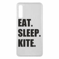 Чохол для Samsung A7 2018 Eat, sleep, kite