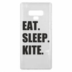 Чохол для Samsung Note 9 Eat, sleep, kite