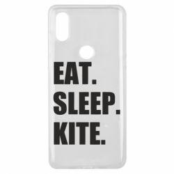 Чохол для Xiaomi Mi Mix 3 Eat, sleep, kite