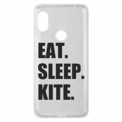 Чохол для Xiaomi Redmi Note Pro 6 Eat, sleep, kite