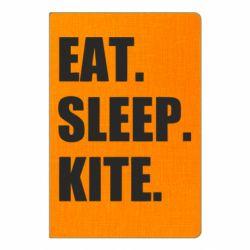 Блокнот А5 Eat, sleep, kite