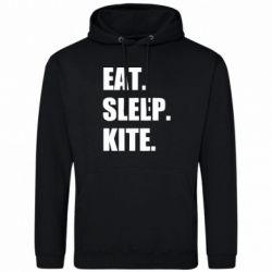 Чоловіча толстовка Eat, sleep, kite