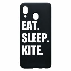 Чохол для Samsung A30 Eat, sleep, kite