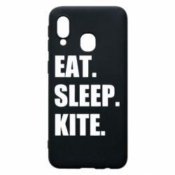 Чохол для Samsung A40 Eat, sleep, kite