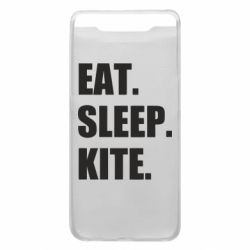 Чохол для Samsung A80 Eat, sleep, kite