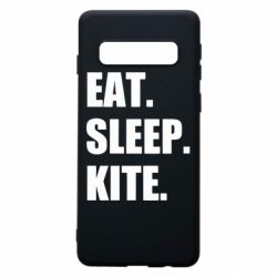 Чохол для Samsung S10 Eat, sleep, kite