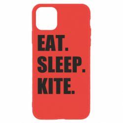 Чохол для iPhone 11 Eat, sleep, kite