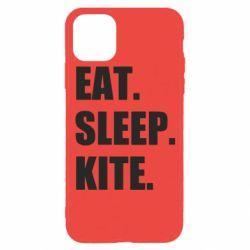 Чохол для iPhone 11 Pro Eat, sleep, kite