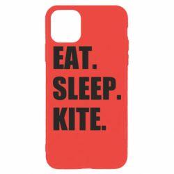 Чохол для iPhone 11 Pro Max Eat, sleep, kite