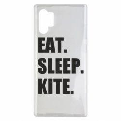 Чохол для Samsung Note 10 Plus Eat, sleep, kite