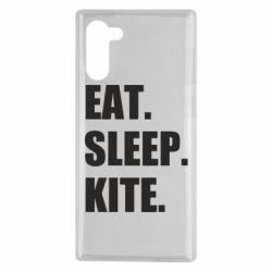 Чохол для Samsung Note 10 Eat, sleep, kite