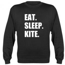 Реглан (світшот) Eat, sleep, kite