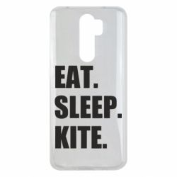 Чохол для Xiaomi Redmi Note 8 Pro Eat, sleep, kite