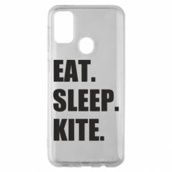 Чохол для Samsung M30s Eat, sleep, kite