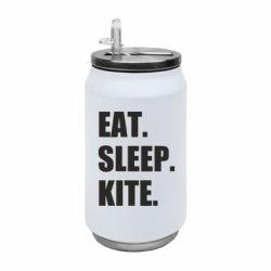 Термобанка 350ml Eat, sleep, kite