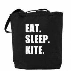 Сумка Eat, sleep, kite