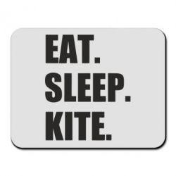 Килимок для миші Eat, sleep, kite