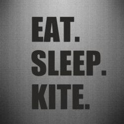 Наклейка Eat, sleep, kite